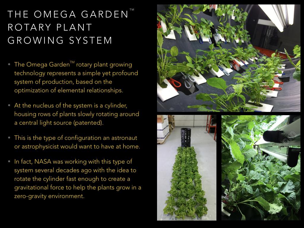 The Farmdominium Concept Omega Garden